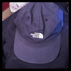 The North Face strap back hat